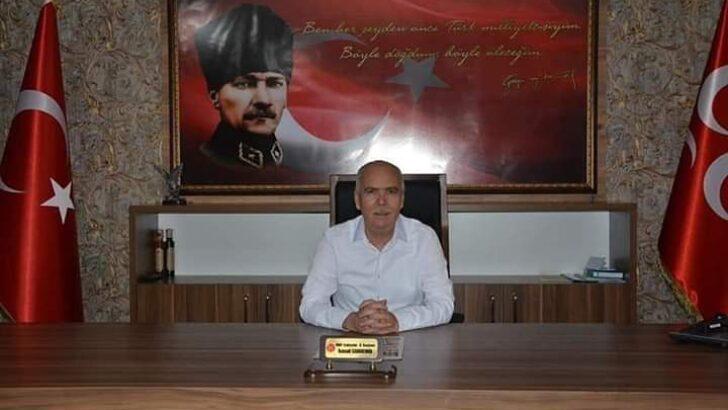 MHP İl Başkanı Candemir teşekkür etti