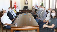 Eskişehir Kent Konseyinden Mihalıççık Belediye Başkanı Çorum'a Ziyaret
