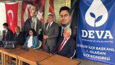 DEVA Partisi Çifteler İlçe Kongresi Yapıldı