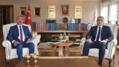 Mihalıççık Belediye Başkanı Çorum Bakan Ersoy'u Ziyaret Etti