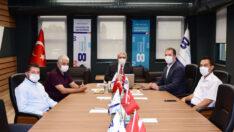 Sarıcakaya Belediye Başkanı Çam'dan EOSB'ye Ziyaret