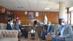 Başkan Kurt İlçe Belediyeleri Ziyaret Etti
