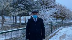 Eskişehir'de Yılın İlk Kar Haberi Han İlçesinden
