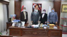 İYİ Parti'den Başkan Tepe'ye Ziyaret