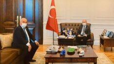 Başkan Şanlı İçişleri Bakanı Süleyman Soylu'yu Ziyaret Etti
