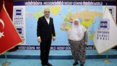 Başkan Akgün'den ESO'ya Ziyaret