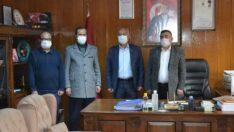 Büyük Birlik Partisi İl Başkanı Şaban Bozbal, Beylikova ve Alpu İlçelerindeydi