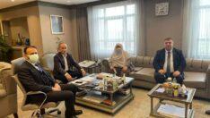 Başkanlardan TOKİ'ye Ziyaret