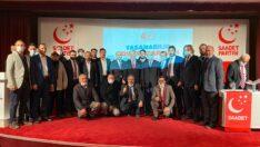 Saadet Partisi Odunpazarı İlçe Kongresi Yapıldı