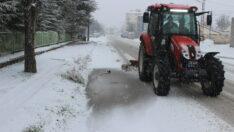 Mahmudiye Belediyesi Karla Mücadele Çalışmalarını Başlattı