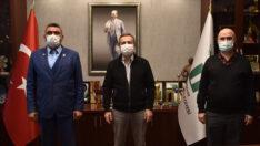 Hacı Şahin'den Başkan Ataç'a Ziyaret
