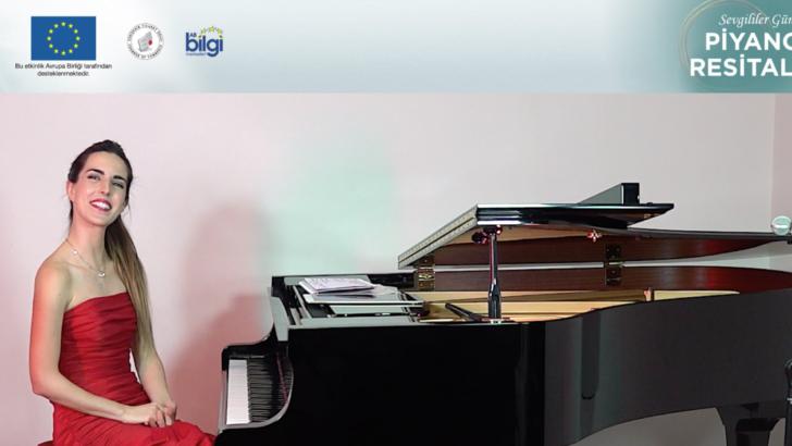 Piyano Resitalini Tüm Dünya İzledi