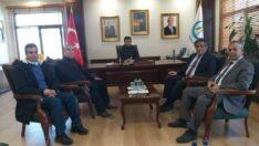 Sendikalardan Çifteler Belediye Başkanı Kadir Bıyık'a Ziyaret