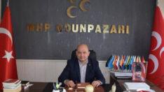 MHP Odunpazarı İlçe Başkanı Mustafa Komar, Regaip kandili nedeniyle bir mesaj yayımladı