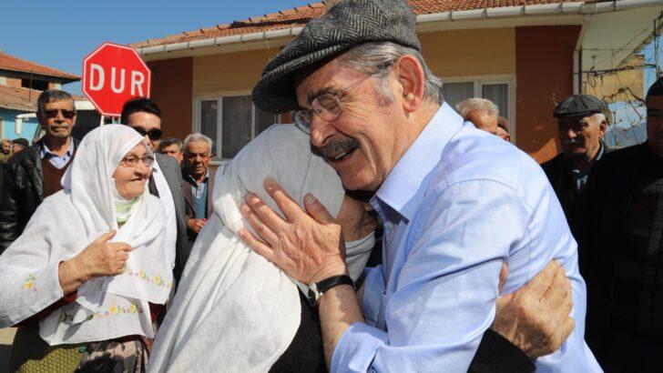 Başkan Büyükerşen: Köylüyü Yeniden Milletin Efendisi Yapacağız