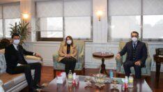 Enerji Bakanı Dönmez'le Eskişehir İlçeleri Konuşuldu