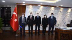 Günay ve Başkanlardan DSİ'ye Ziyaret