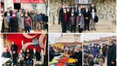 CHP Eskişehir İl Başkanlığından Mihalıççık Çıkartması