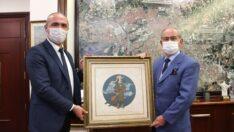 Mihalıççık Belediye Başkanı Çorum'dan Başkan Büyükerşen'e Ziyaret