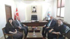 Başkan Şanlı'dan , Başkan Çorum'a Ziyaret