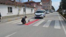 Beylikova'da Kırmızı Çizgi Çekildi