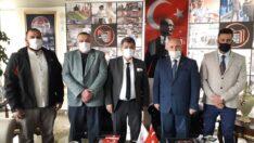 Yeniden Refah Partisi Odunpazarı İlçe Başkanlığı ESESOB'u Ziyaret Etti