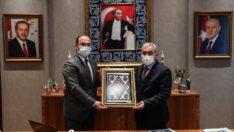 Başkan Tepe'den Kütahya Belediye Başkanı Işık'a Ziyaret