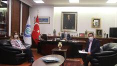 Gündoğan'dan Başkan Büyükerşen'e Ziyaret
