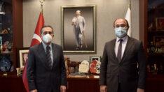 Başkan Tepe'den Ataç'a Teşekkür Ziyareti