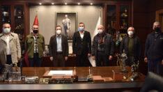 Seyitgazi CHP'den Başkan Ataç'a Ziyaret