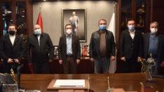 Mihalgazi ve İnönü CHP'den Başkan Ataç'a Ziyaret