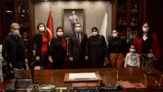 Sarıcakaya'lı Kadınlardan Başkan Ataç'a Ziyaret