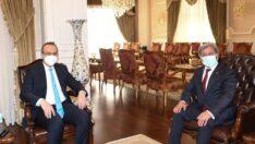 Başkan Durgut ziyaretlerini sürdürüyor