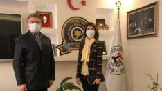 Tambova , Lokantacılar Odası Başkanı Bilen'i ziyaret etti