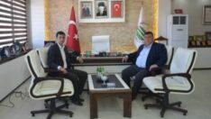 Çifteler Belediye Başkanı Bıyık'tan Beylikova'ya ziyaret