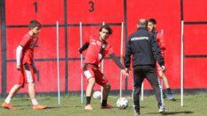 GZT Giresunspor maçının taktiği çalışıldı