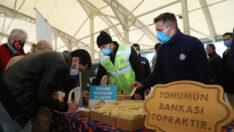 Bursa'da Eskişehir tohumlarına büyük ilgi