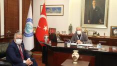 CHP İl Başkanı Taşel'den Başkan Büyükerşen'e Ziyaret