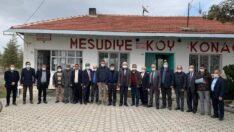 Kabukcuoğlu ve İl Yöneticileri Mahmudiye'de
