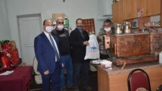 Seyitgazi Belediyesi'nden Kahveci esnafına destek