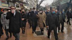 DP Genel Başkanı Uysal Eskişehir'e geldi