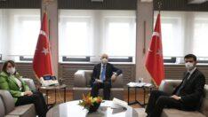 Günay ve Bıyık'tan Ulaştırma ve Altyapı Bakanı'na ziyaret