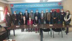 İYİ Parti Tepebaşı İlçe Başkanlığı , CHP Tepebaşı İlçe Başkanlığını ziyaret etti