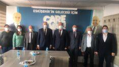 İYİ Parti Tepebaşı İlçe Başkanlığından Saadet Partisine Ziyaret
