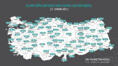 Eskişehir'de ki vaka sayıları artmaya devam ediyor