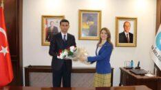 Tambova , Çifteler Belediye Başkanı Kadir Bıyık'ı ziyaret etti