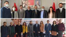 DEVA Partisi Odunpazarı İlçe Başkanlığından CHP ve İYİ Partiye Ziyaret