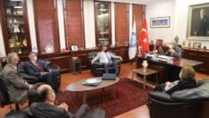 Romanya Dobruca Kırım Göçmenleri Derneği'nden Başkan Büyükerşen'e Ziyaret