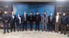 Seyitgazi'den Büyükşehir Belediyesi'ne Teşekkür Ziyareti