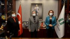 Tokathan Güzelleştirme Derneği'nden Başkan Ataç'a Ziyaret